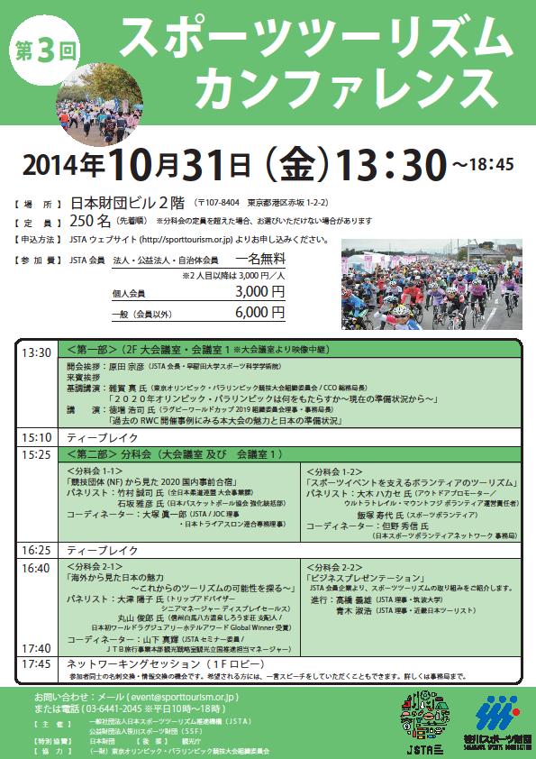 第3回スポーツツーリズム・カンファレンス